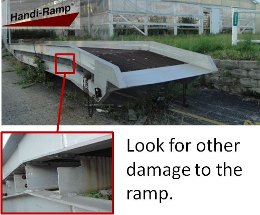 Other yard Ramp Damages