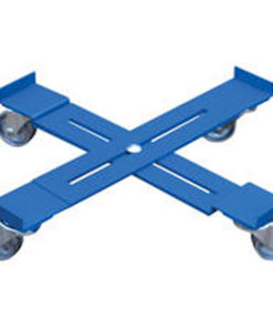 Adjustable Dolly - Hard Rubber Casters