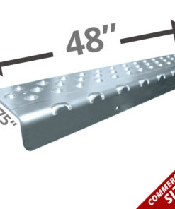 "Extra Long 48"" Non Slip Nosing - Clear Coat Anodized"